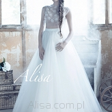 Robe de mariée Kendall, creation Alisa 2016