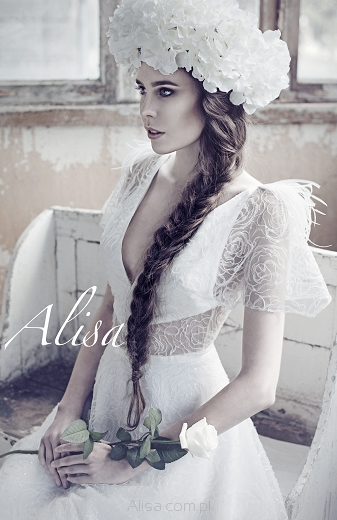 KAREN - robe de mariée , collection  Alisa 2016